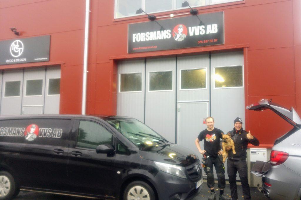 Forsmans VVS - Bad & Värme Vendelsö