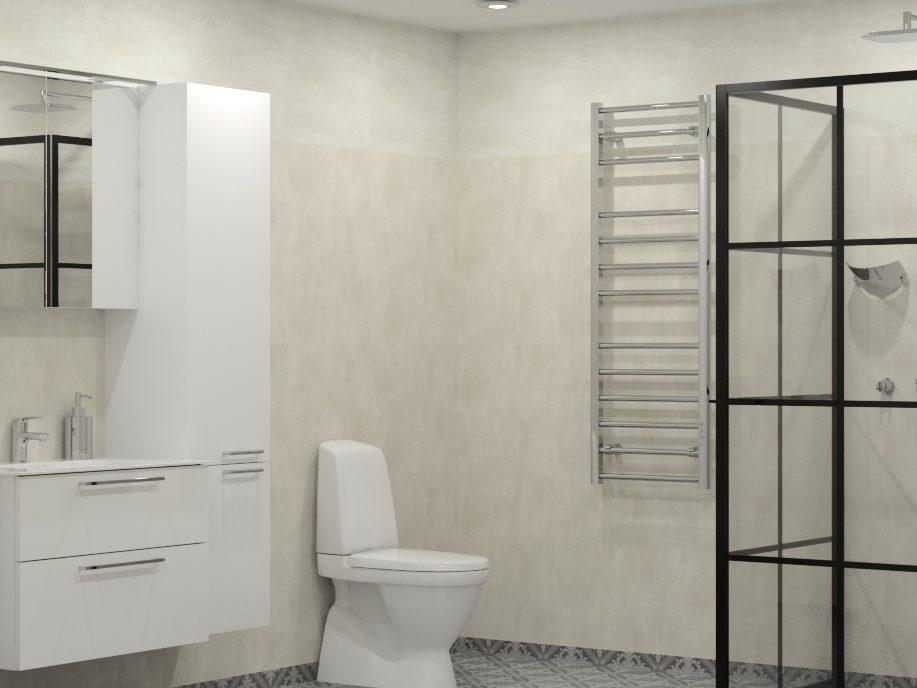 Komplett badrum Valbo Nybloms Rör 2