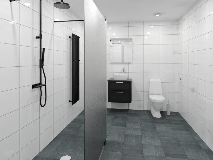 Komplett badrum Valbo Nybloms Rör 5